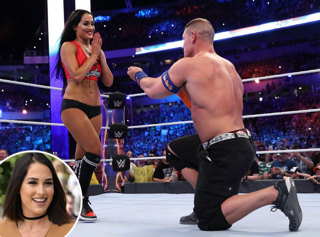 John Cena, Nikki Bella, Proposal, Brie Bella