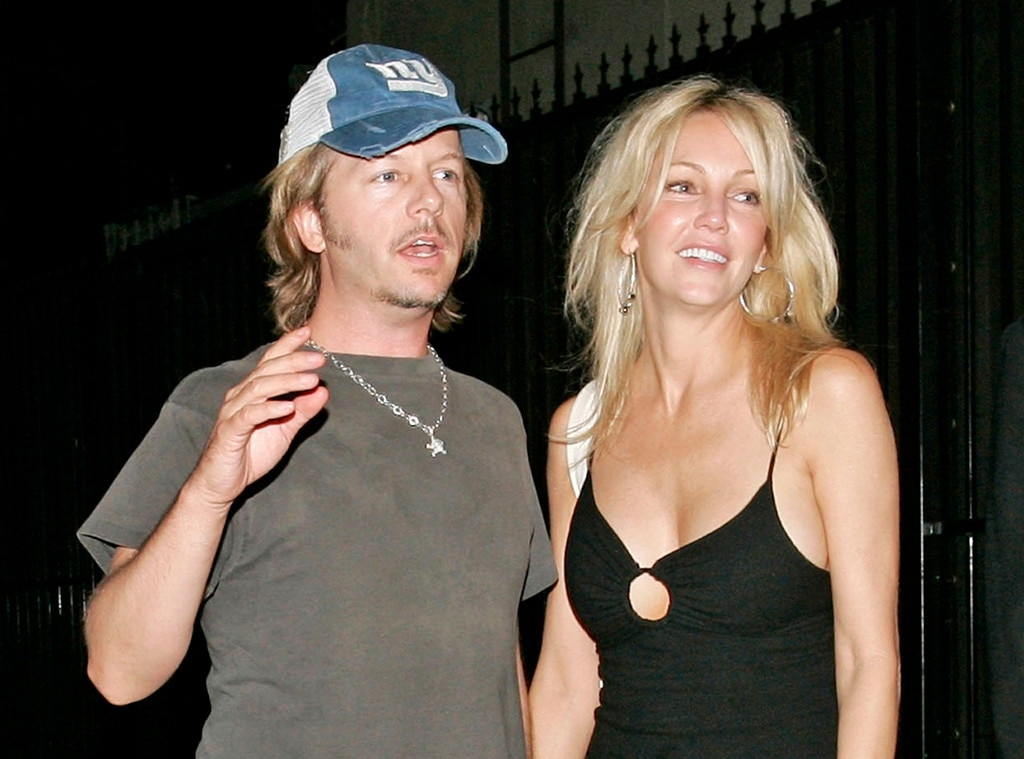 Heather Locklear, David Spade