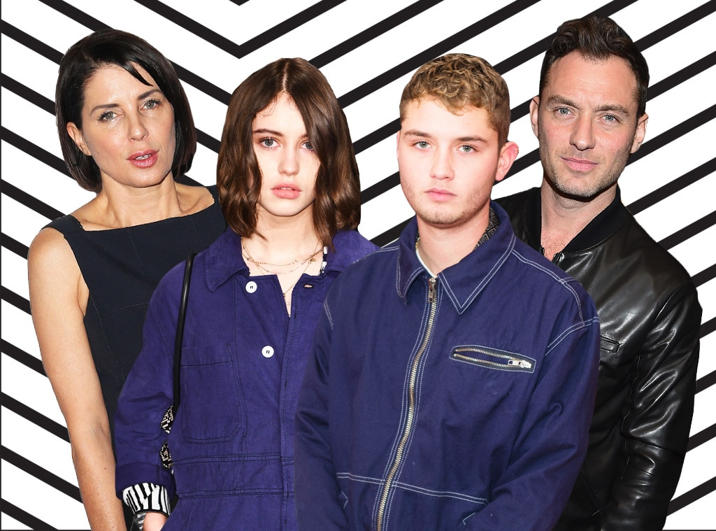 Guess the Celebrity Model's Famous Parent, Iris Law, Rafferty Law