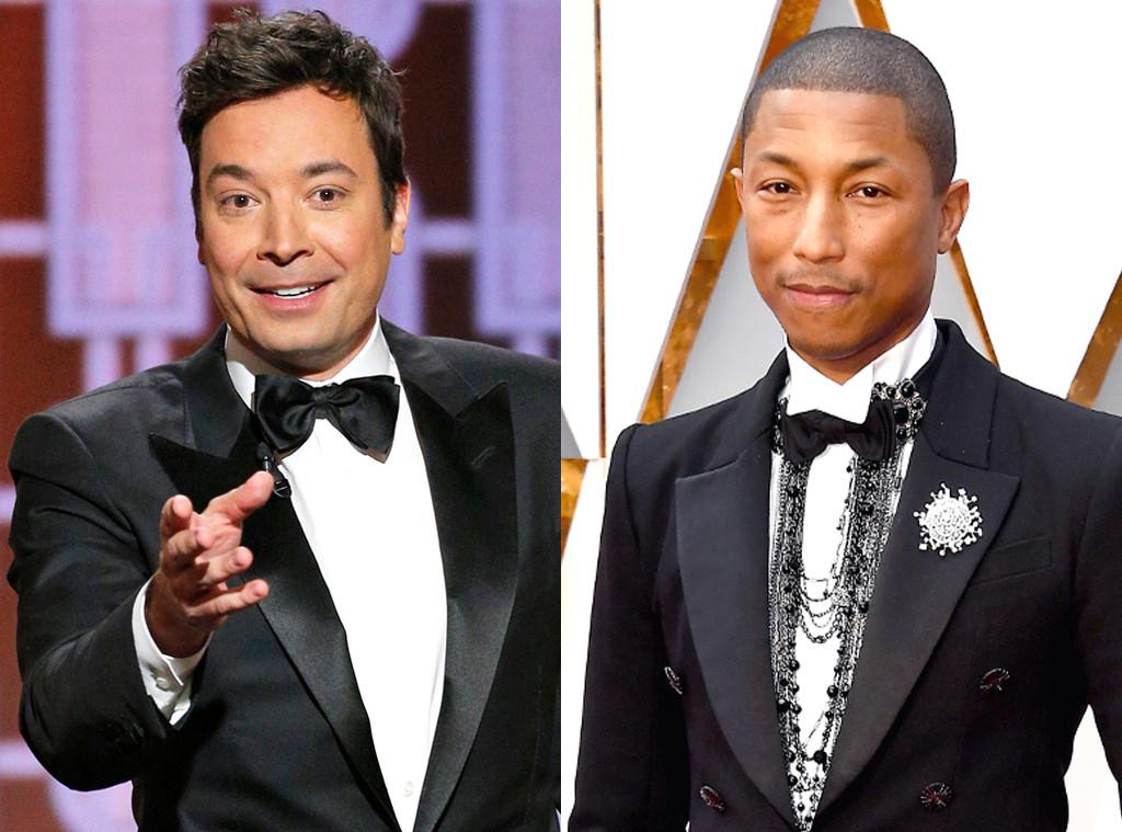Pharrell Williams, Jimmy Fallon