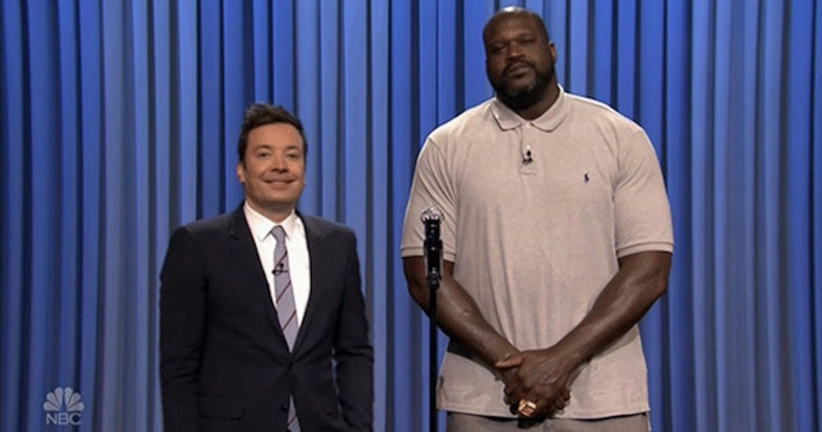 Jimmy Fallon, Shaquille O'Neal