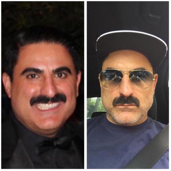 Reza Farahan, Instagram