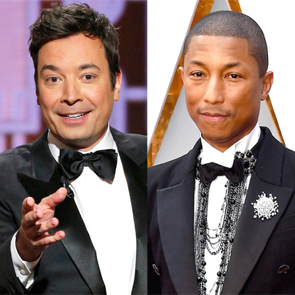 Pharrell Williams, Jimmy Fallon