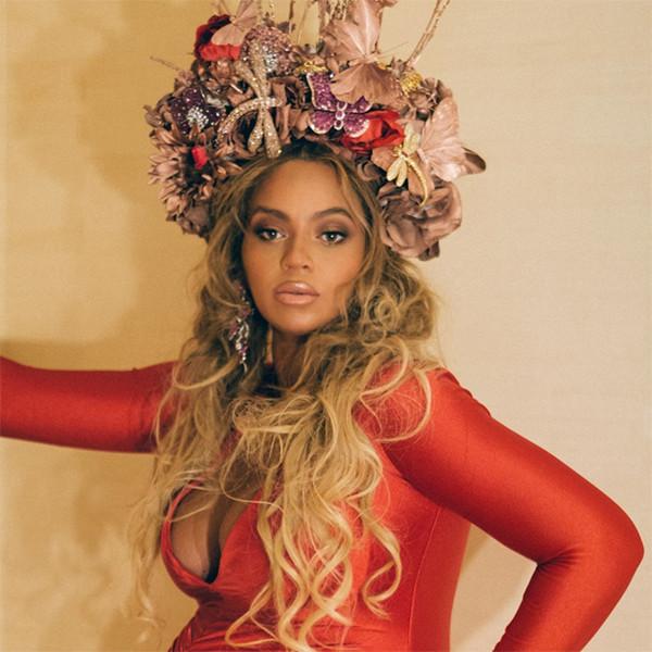 Beyonce, Pregnant, Red Dress
