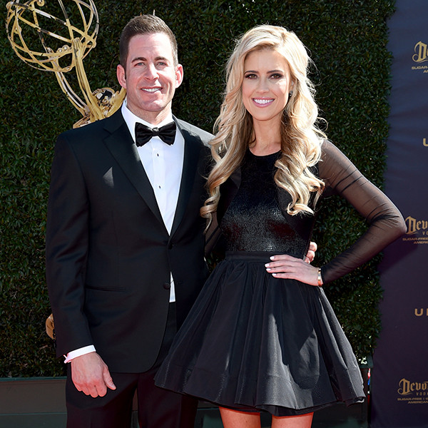 Tarek El Moussa, Christina El Moussa, 2017 Daytime Emmy Awards, Arrivals