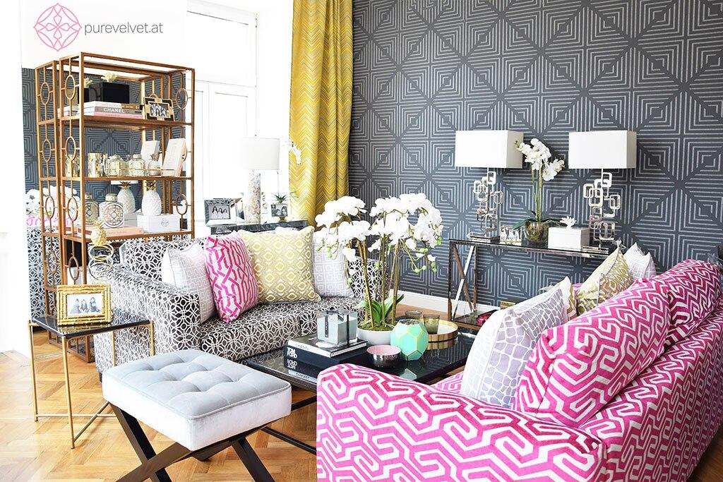 gewinne einen 200 euro gutschein mit dem einrichtungs online shop pure velvet und keeping up. Black Bedroom Furniture Sets. Home Design Ideas