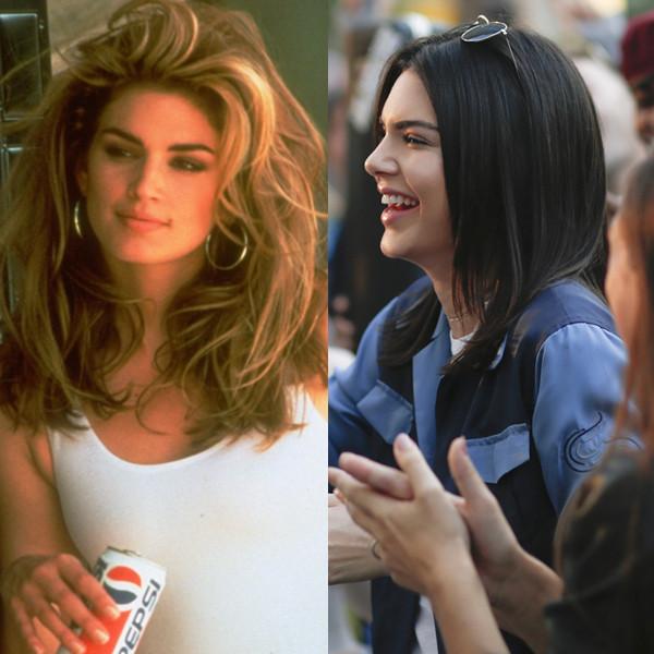 Cindy Crawford, Kendall Jenner, Pepsi