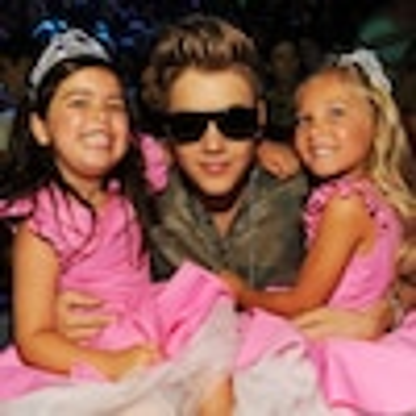 Justin Bieber, Sophia Grace Brownlee, Rosie McClelland, Teen Choice Awards