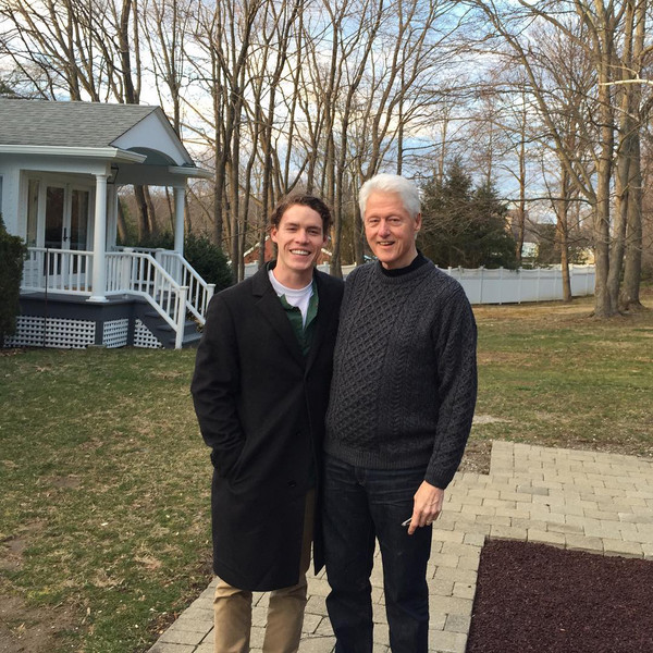 Tyler Clinton, Bill Clinton