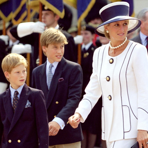 Prince William, Princess Diana, Prince Harry