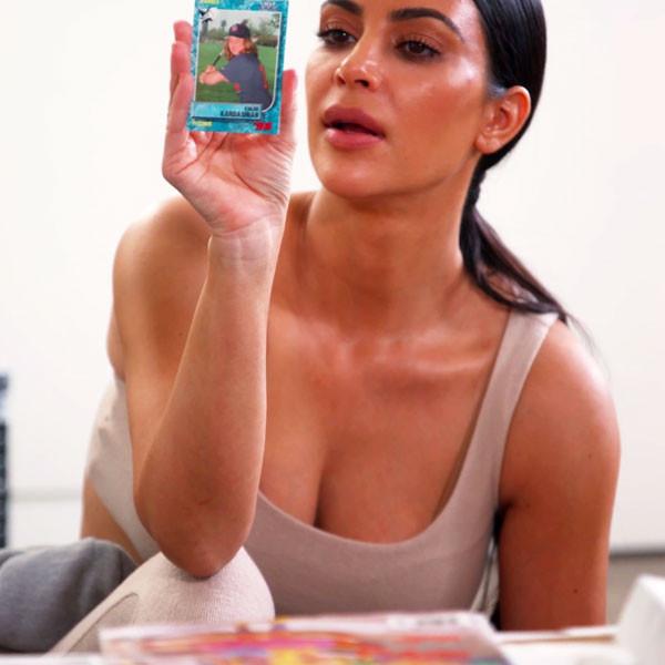 Kim Kardashian Finds Hilarious Throwback Photo From Khloe Kardashian's Childhood Days on the Softball Team