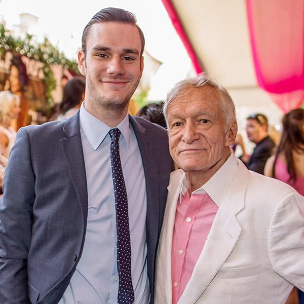 Hugh Hefner's Son Cooper Pays Tribute to <i>Playboy</i> Founder After His Death