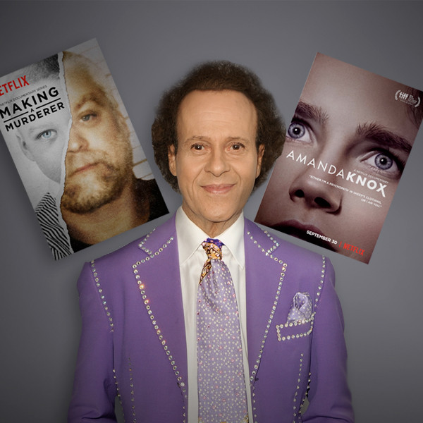True Crime, Richard Simmons, Making of a Murderer, Amanda Knox