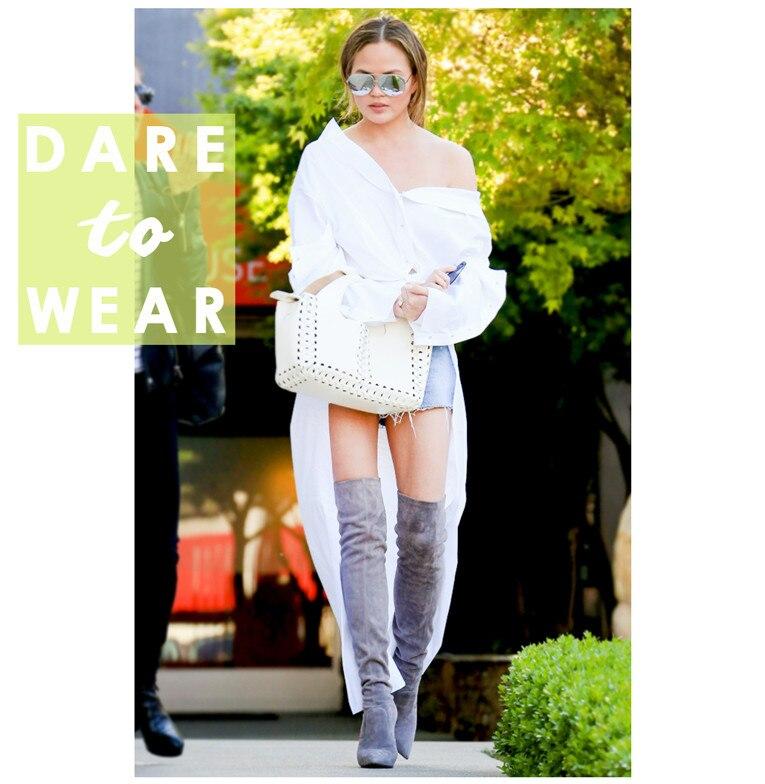 ESC: Chrissy Teigen, Dare to Wear
