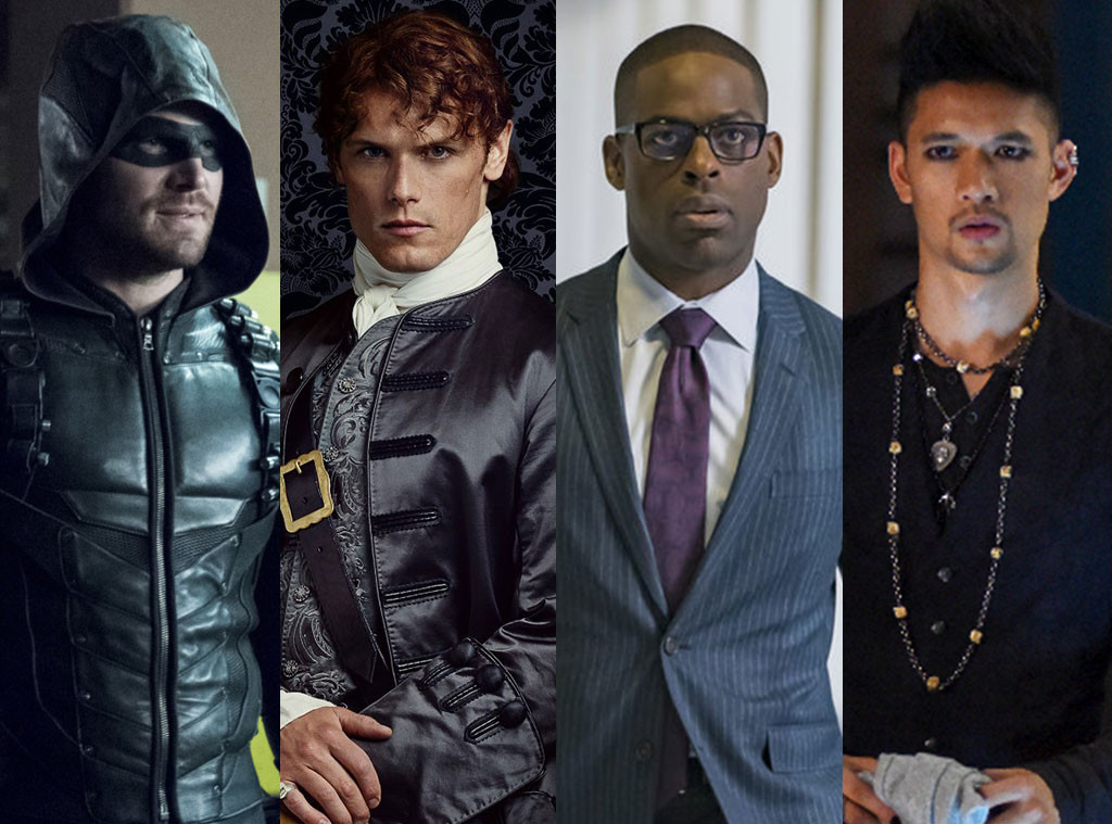 Alpha Male Madness, Stephen Amell, Sam Heughan, Sterling K. Brown, Harry Shum Jr.