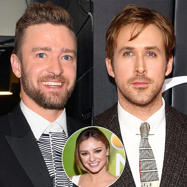 Justin Timberlake, Ryan Gosling, Christine Evangelista