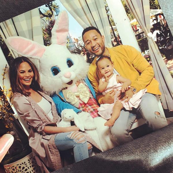 Stars Celebrate Easter