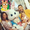 Chrissy Teigen, John Legend, Luna, Easter Bunny, Arthur