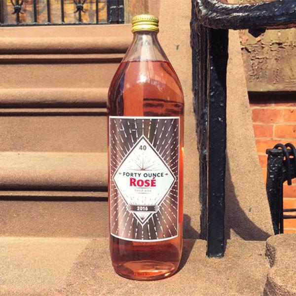 Rose 40 Ounce