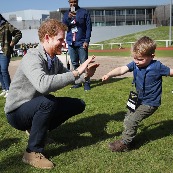 Prince Harry's Cutest Moments With Dogs, Kids and His Family