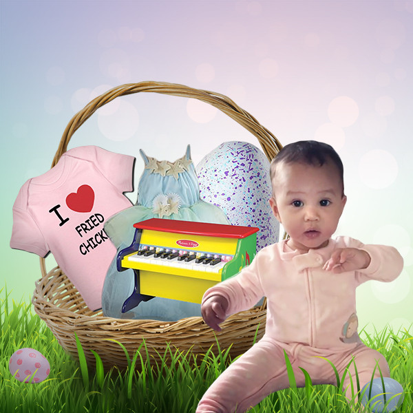 Celebrity Kids Easter Baskets, Luna Legend
