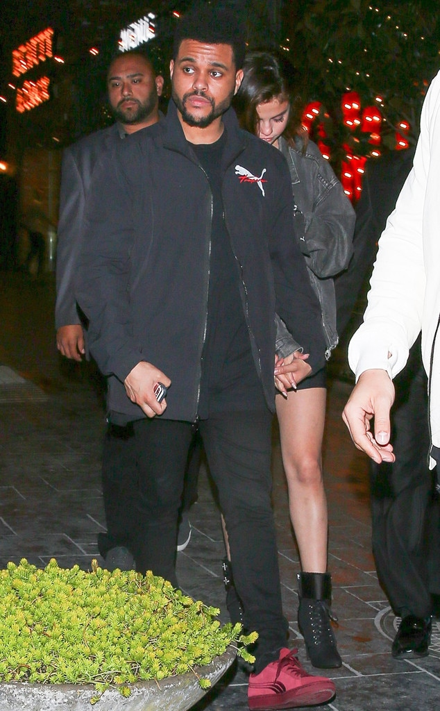 Selena Gomez And The Weeknd Hold Hands During Romantic Date Night In Los Angeles