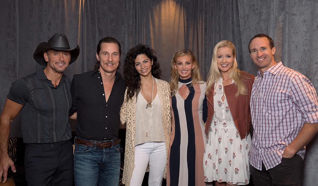 Tim McGraw, Faith Hill, Matthew McConaughey