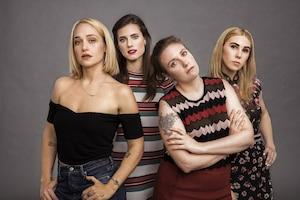 Girls, Lena Dunham, Zosia Mamet, Jemima Kirk, Allison Williams