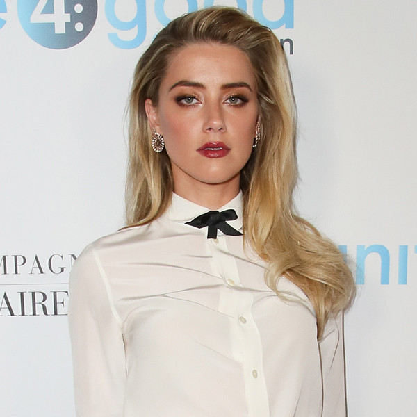 Amber Heard Leaves Unite4:Humanity Gala Early Due to ...  Amber Heard