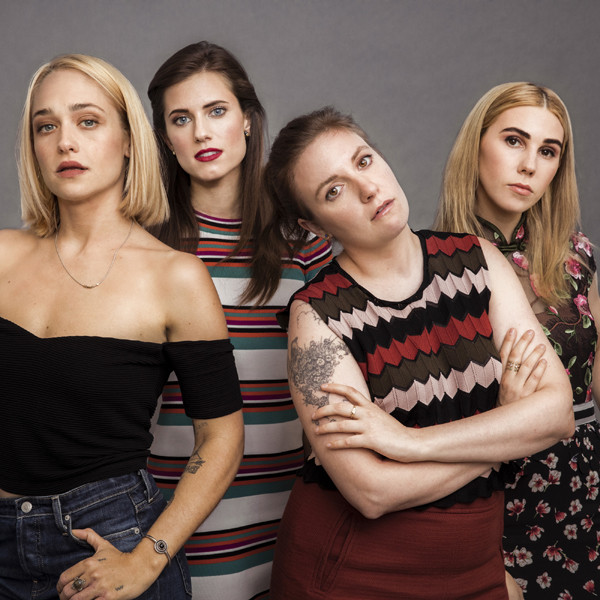 Girls, Lena Dunham, Zosia Mamet, Jemima Kirk, Allison Williams