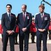 Prince William, Prince Harry, Justin Trudeau
