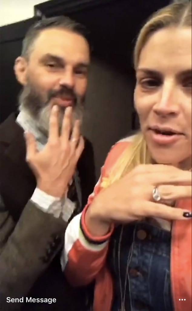 Busy Philipps, Marc Silverstein, Instagram Stories