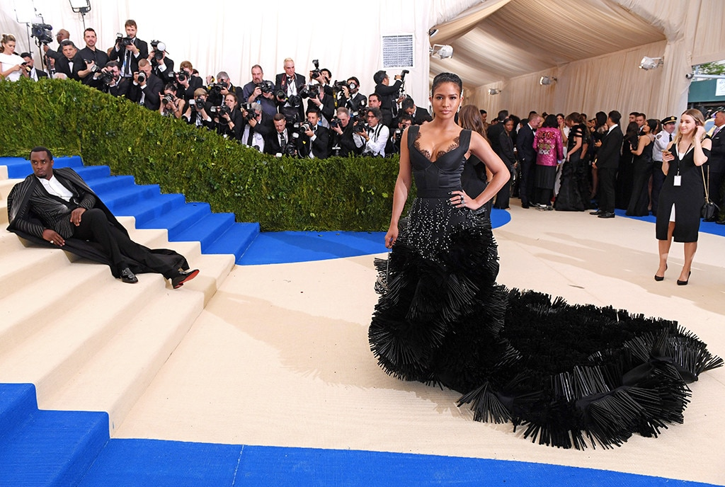 Sean Combs, Cassie Ventura, 2017 Met Gala Arrivals, NOT FOR WIDGET