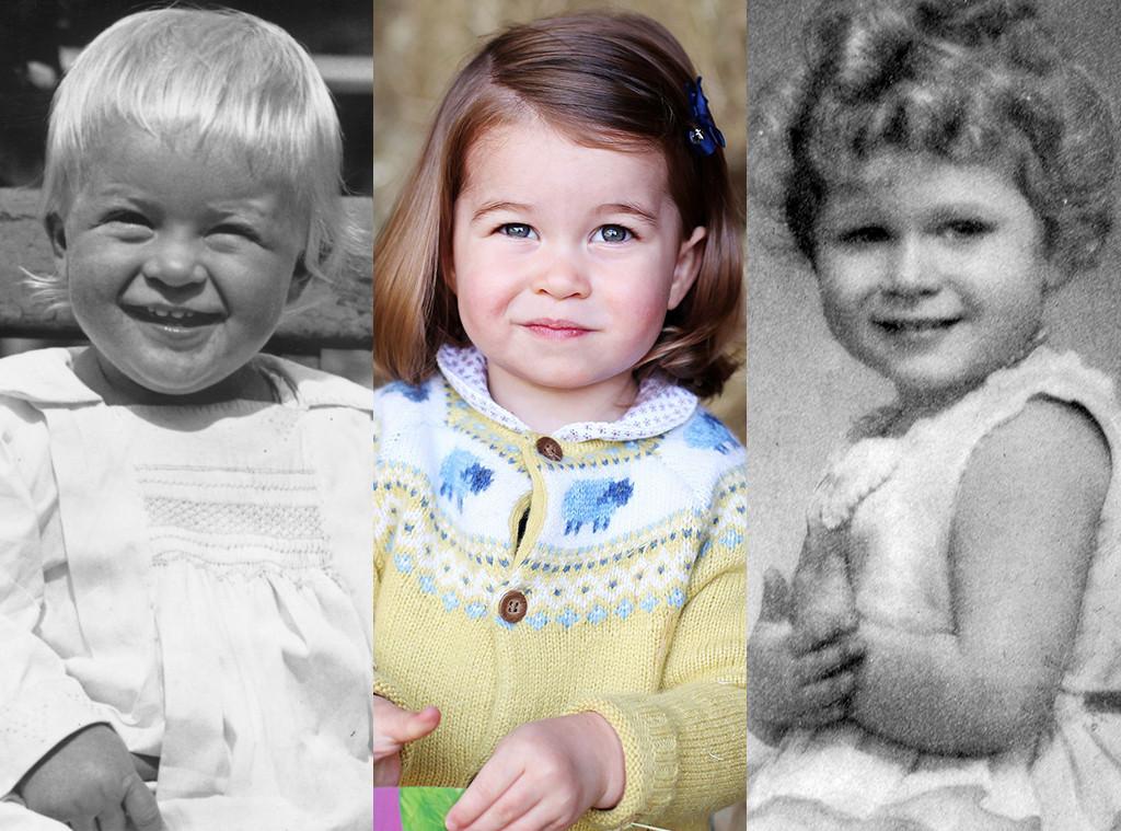 Prince Philip Princess Charlotte Queen Elizabeth Ii