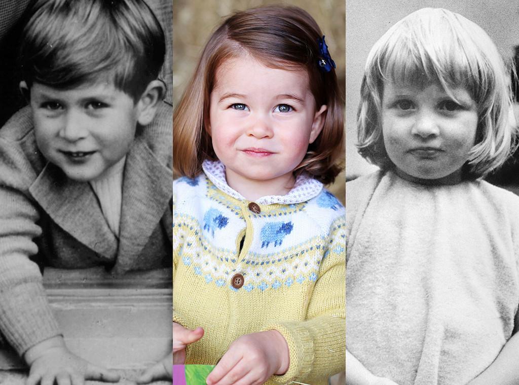 Prince Charles Princess Charlotte Diana