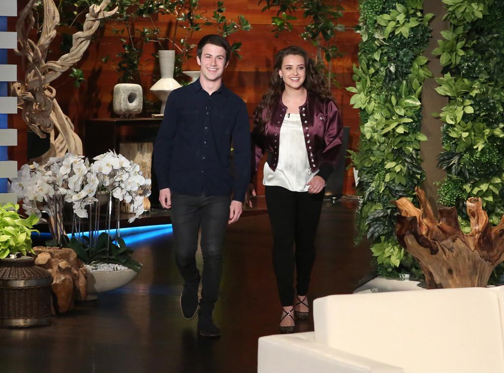 Dylan Minnette, Katherine Langford, The Ellen DeGeneres Show