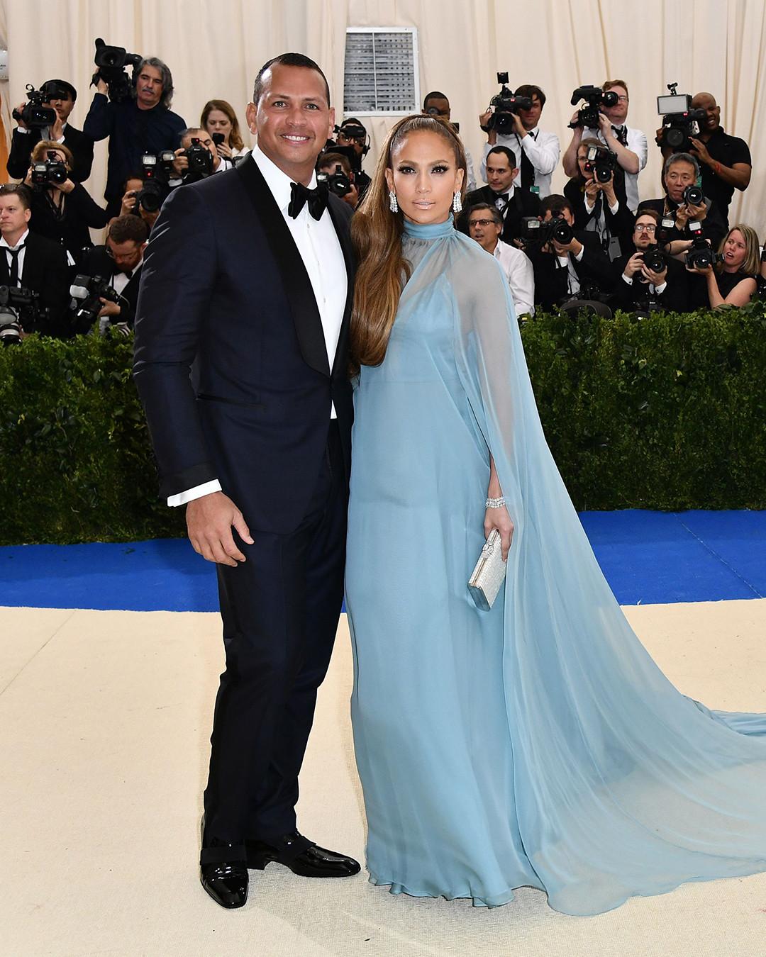 Alex Rodriguez, Jennifer Lopez, 2017 Met Gala, Couples
