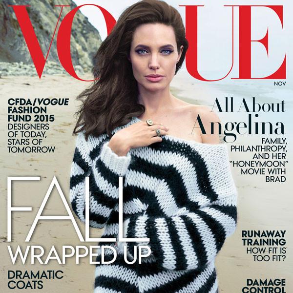 Angelina Jolie, Vogue