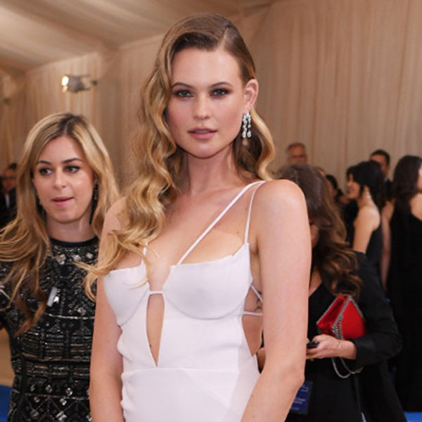 Behati Prinsloo Can't Stop Gushing About Baby Dusty at the Met Gala