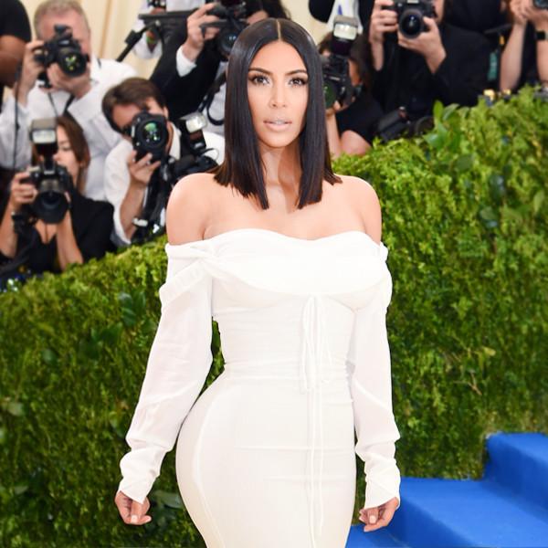 ESC: Kim Kardashian, Met Gala 2017