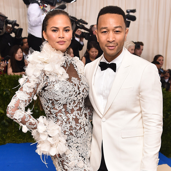 Chrissy Teigen, John Legend, 2017 Met Gala, Couples