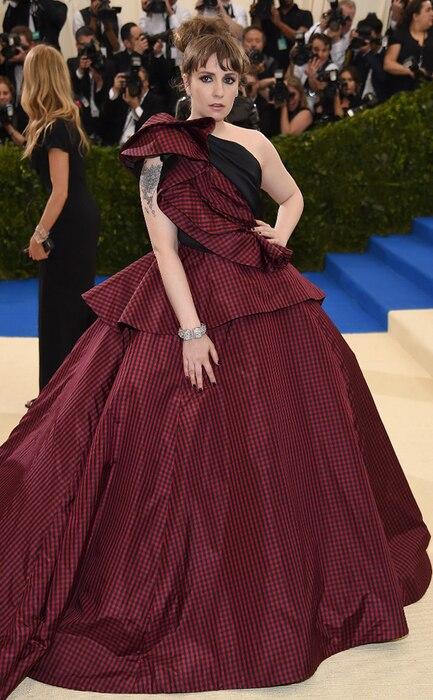 Lena Dunham, 2017 Met Gala Arrivals
