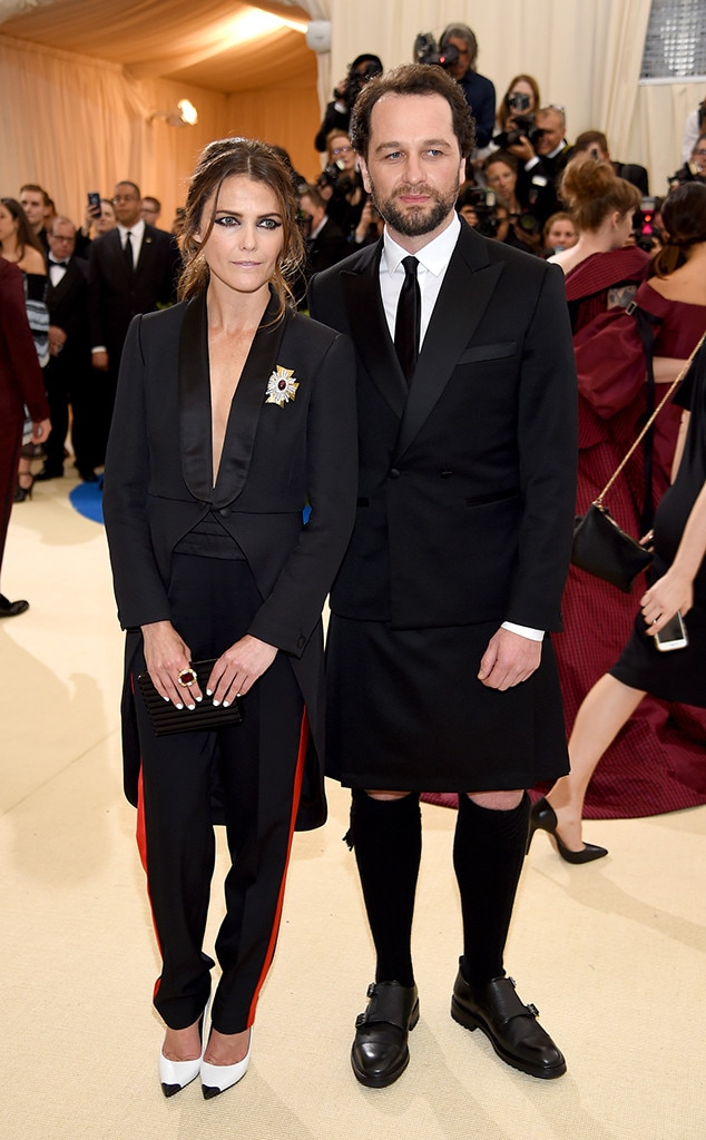 Keri Russell, Matthew Rhys, 2017 Met Gala, Couples