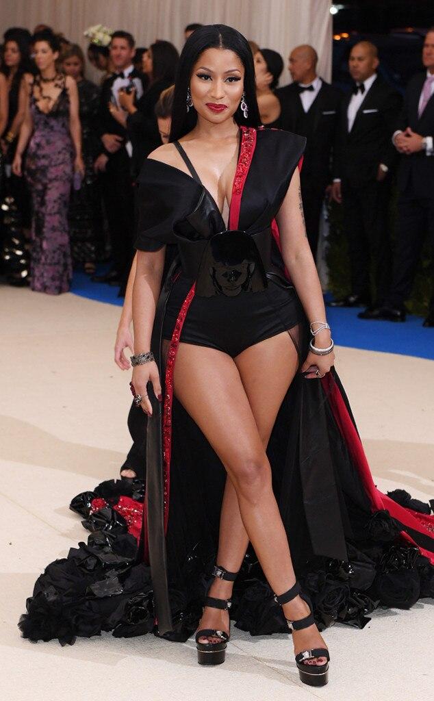 Nicki Minaj, 2017 Met Gala Arrivals