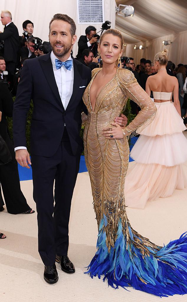 Blake Lively, Ryan Reynolds, 2017 Met Gala, Couples