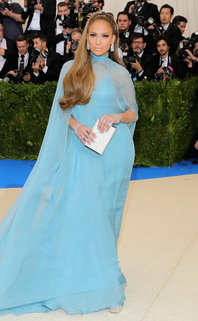 2017 Met Gala: Red Carpet Arrivals Jennifer Lopez, 2017 Met Gala Arrivals