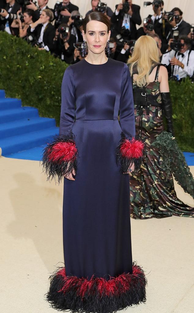Sarah Paulson, 2017 Met Gala Arrivals