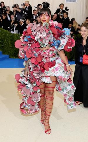 Rihanna, 2017 Met Gala Arrivals
