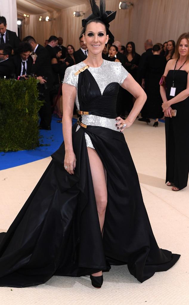 Celine Dion, 2017 Met Gala Arrivals