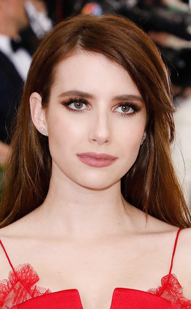 ESC: Met Gala 2017, Best Beauty, Emma Roberts